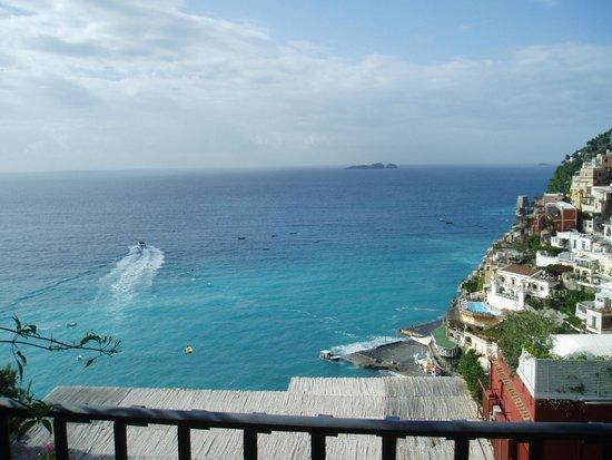 Villa Rosa: カプリ島へ向かうボート