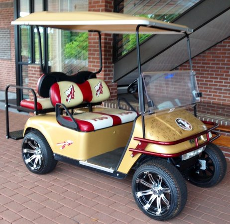 Tallahassee Antique Car Museum: FSU golf cart