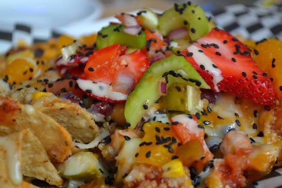Nourish Vegetarian Bistro: Famous Nachos