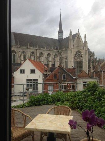 3 Paardekens Hotel : Vistas desde el comedor