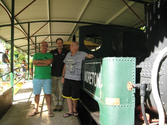 The Ginger Factory: Ride on Moreton Train with Blake the driver