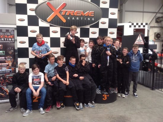 Xtreme Karting Falkirk: Luncarty FC 2001s