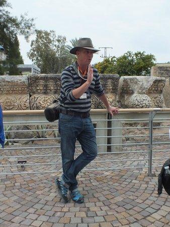 Haifa Port: Our guide Yair Herdan
