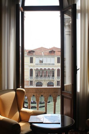 Hotel Palazzo Stern: View from our window