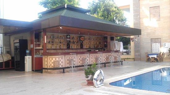 Grand Lukullus Hotel : бар у бассейна