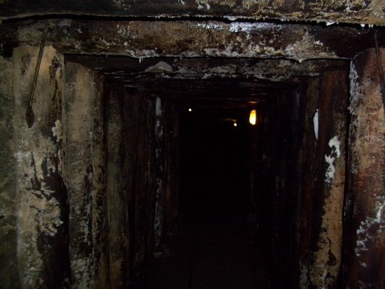 Il Parco Archeominerario di San Silvestro : Interno miniera