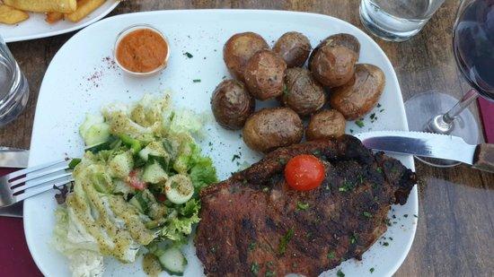 Meet Argentinian Steak House: Sirloin steak
