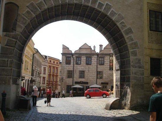 Cesky Krumlov Castle: vi muitas cenas do filme o Ilusionista,filmadas aqui