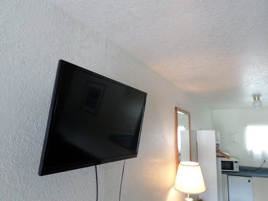 Sandman Motel: Our New Flat Scrren TV's in every room