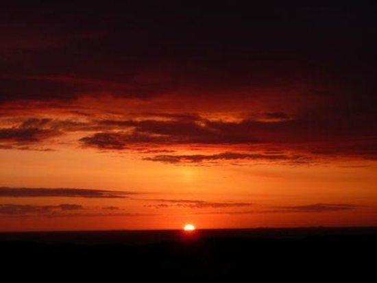 Creag nan Ubhal B&B: Sunset from Creag nan Ubhal