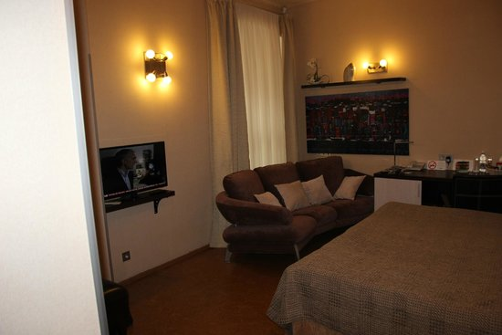 Nevsky Forum Hotel: My classic room.. very comfortable with English TV