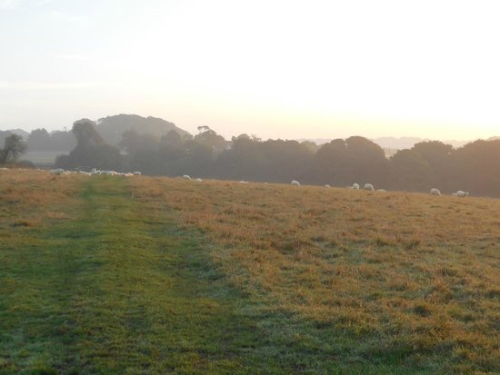 Hastings Country Park: A September sunrise across the Country Park