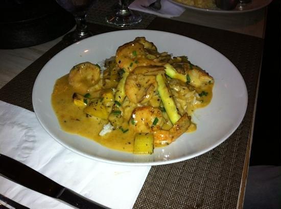 Resto Pub Bord'Eaux : Shrimp Dinner