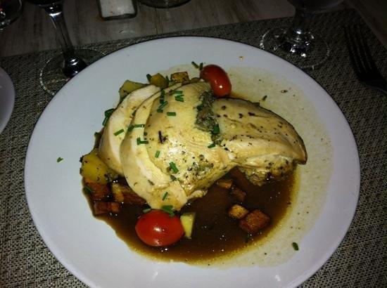 Resto Pub Bord'Eaux : Stuffed Chicken