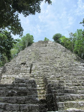 Ruines de Cobá : Temple of Chaac