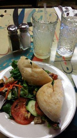 Hush-Harbor Artisan Bakery: Wonderful Sandwiches!