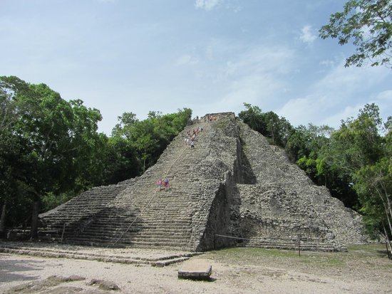 Coba Ruins: Nohuch Mul, get ready to climb!