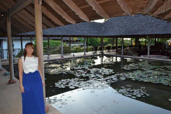 The Gulai House: Datai lobby area