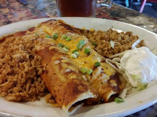 Nuevo Grill & Cantina: Steak enchiladas
