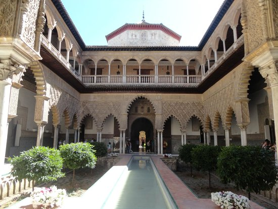 Alcázar: Alcazar: Dettaglio del Palazzo (esterno)