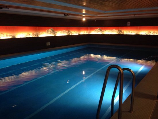 H+ Hotel & SPA Engelberg: Peaceful pool
