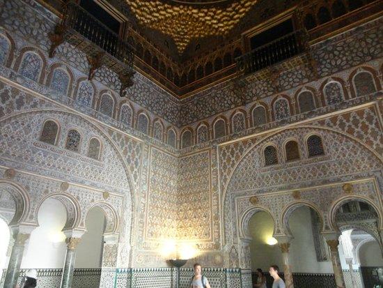 Alcázar: Alcazar: Dettaglio del Palazzo (interno)