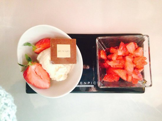 H+ Hotel & SPA Engelberg: Dessert AMAZING.