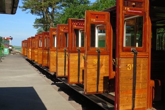 Lynton & Barnstaple Railway: the beautifully restored coaches