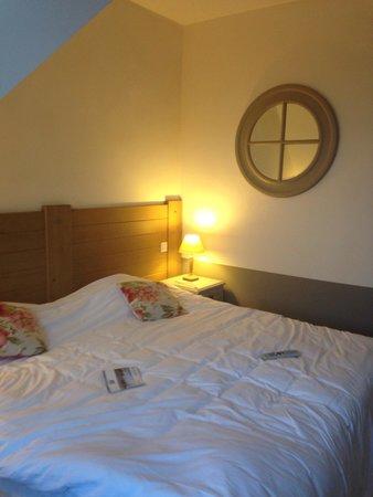 Pierre & Vacances Residence Premium Résidence & Spa : Vårt mysiga sovrum
