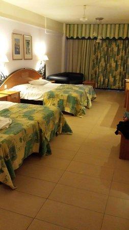 Hotel Santana: superior room on ground floor.  So lovely!