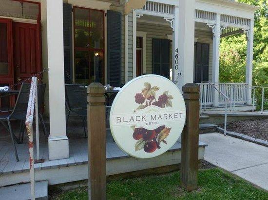 Garrett Park, MD: Front of Black Market