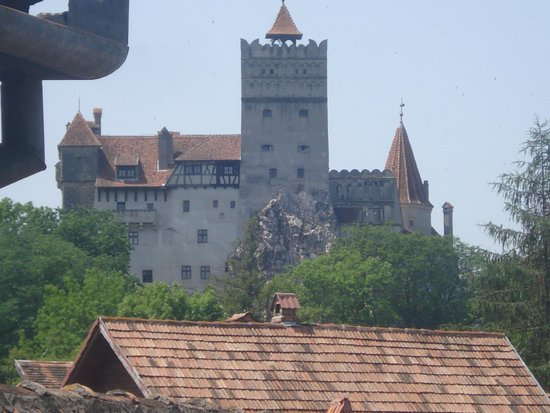 Bran, Romania: O castelo dele o  Vlad,vejo ele como um Robim Hood protegendo sua  terra