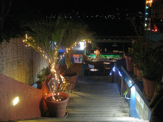 Casita Tropical: Loved the ambiance at the Dinghy Dock
