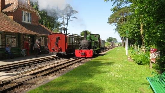 Lynton & Barnstaple Railway: A perfect setting on a fine day