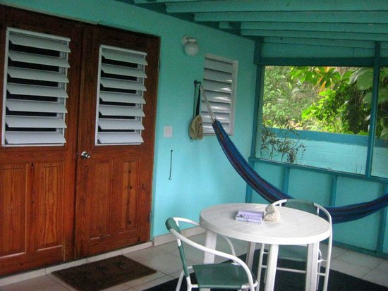 Casita Tropical: Our deck