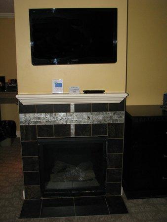 Golden Apple Inn : fireplace