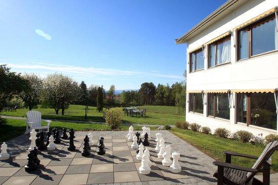 Klaekken Hotell: Uitzicht vanaf diverse terrasjes