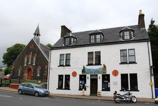 The Isles Inn Pub & Hotel: Exterior del restaurante