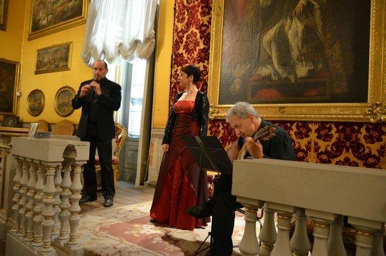 Palazzo Doria Pamphilj: Concert in Throne Hall
