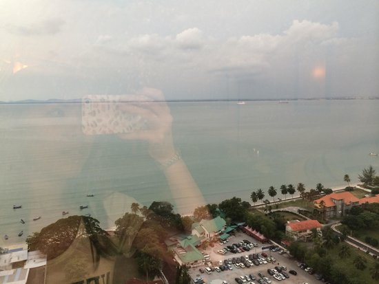 The Northam All Suite Penang: View from the room~