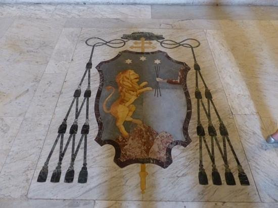 Cattedrale: mosaique au sol