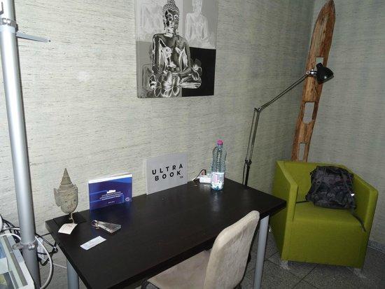 Art Hotel Korschen: Schreibtisch