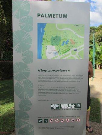 Townsville Palmetum: Entrance