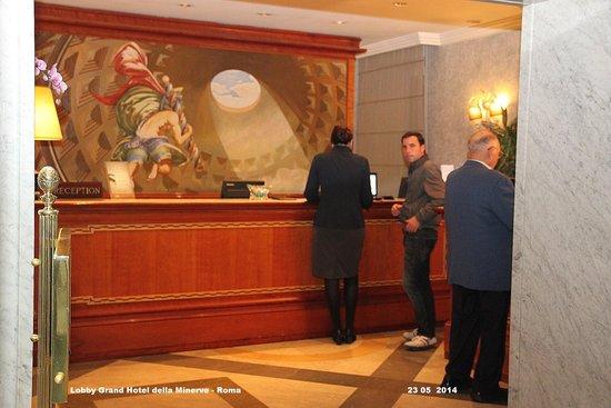 Grand Hotel de la Minerve: Lobby