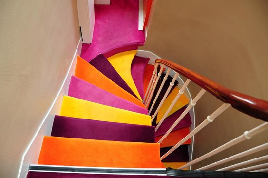 La Maison Montparnasse: The stair