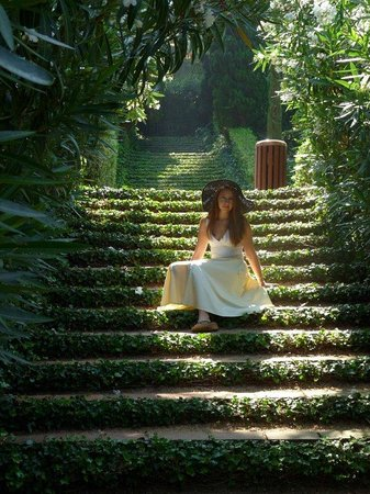 Jardin Santa Clotilde : Сады св.Клотильды.
