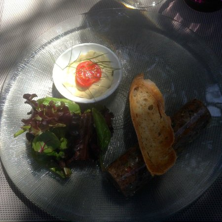 Le Bistrot du Bord de l'eau : Pot au feu persillé et foie gras en fine gelée
