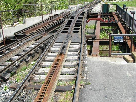 The Mount Washington Cog Railway : turnout?