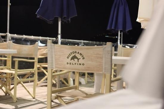 Ristorante Bagni Delfino: amazing views