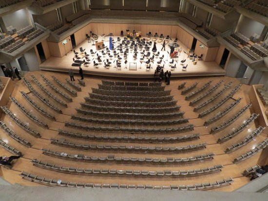 Roy Thomson Hall: Stalls and stage